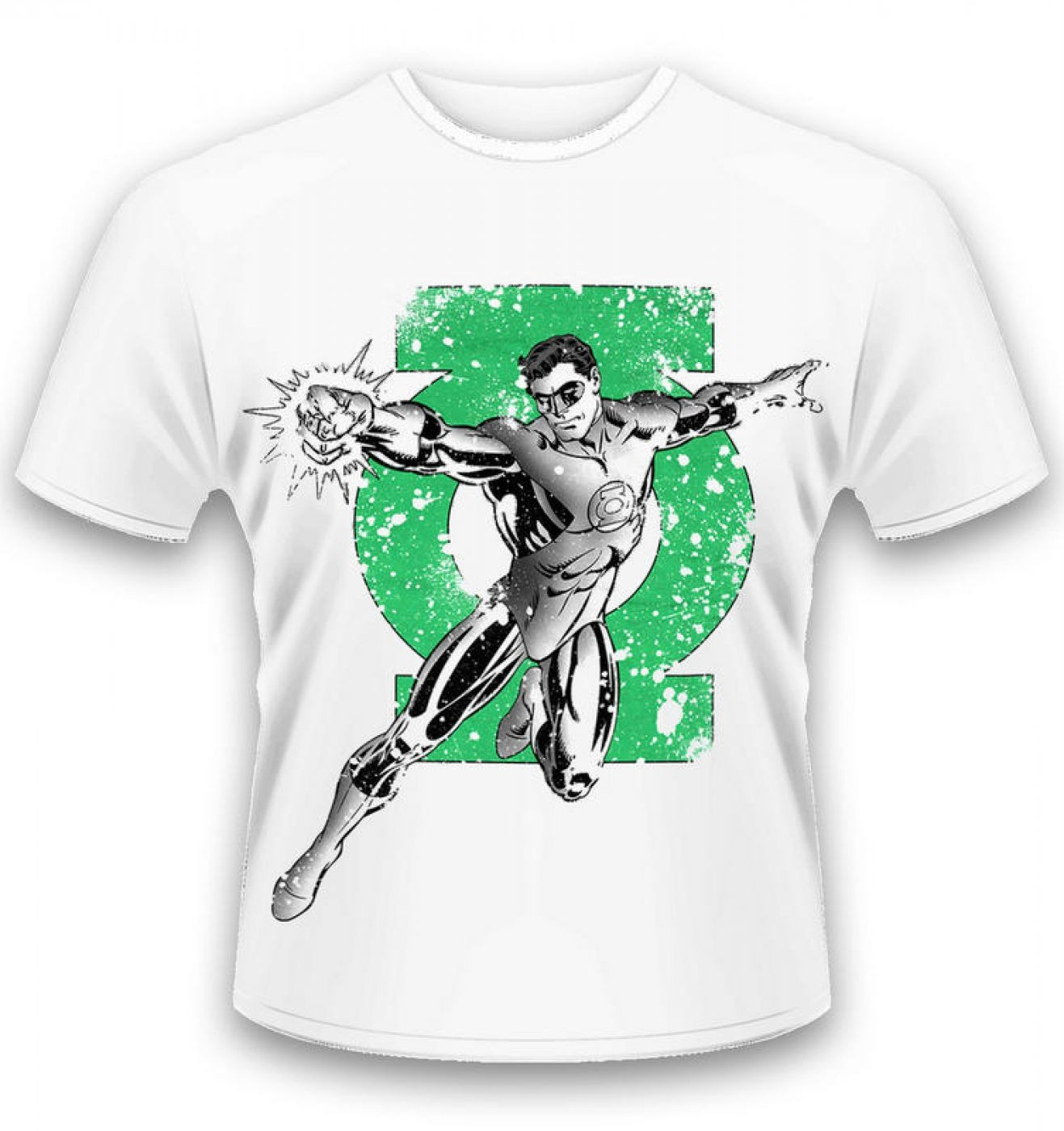 Official Green Lantern t-shirt by DC Originals - Green Lantern Punch t-shirt