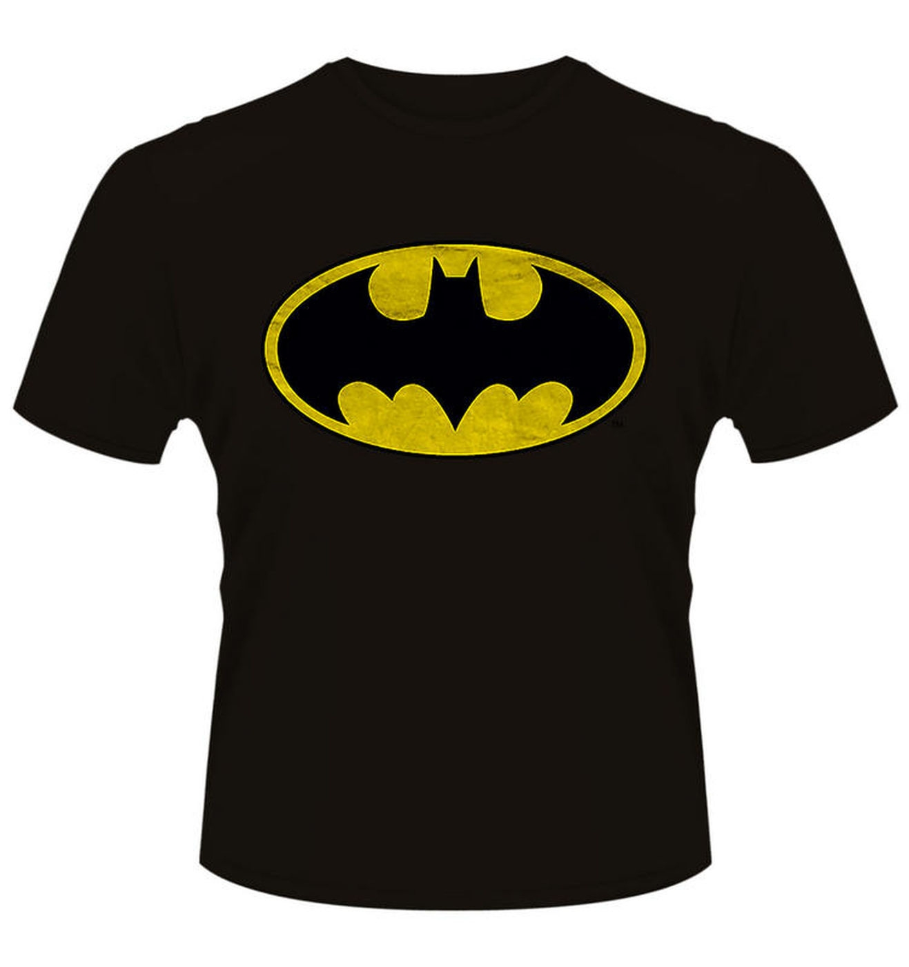dc originals batman original logo t shirt somethinggeeky. Black Bedroom Furniture Sets. Home Design Ideas