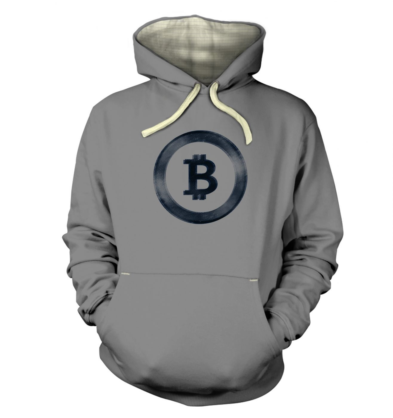 Distressed Bitcoin hoodie (premium)
