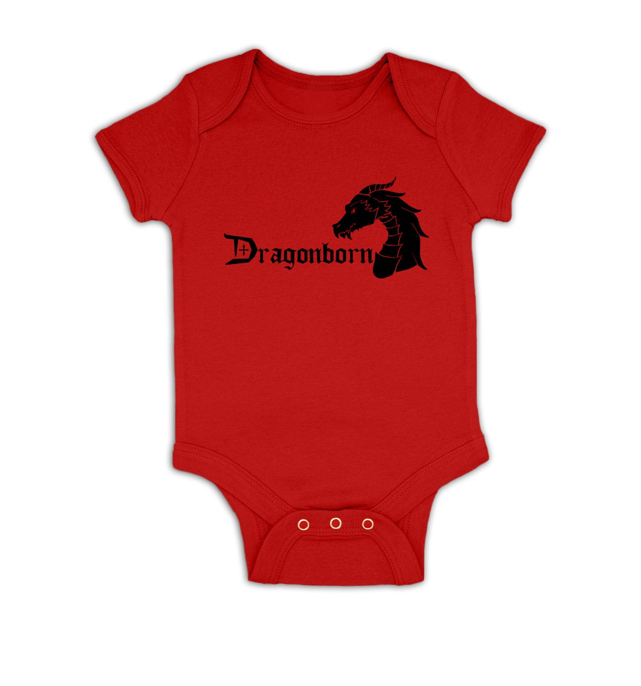 Dragonborn baby grow by Something Geeky