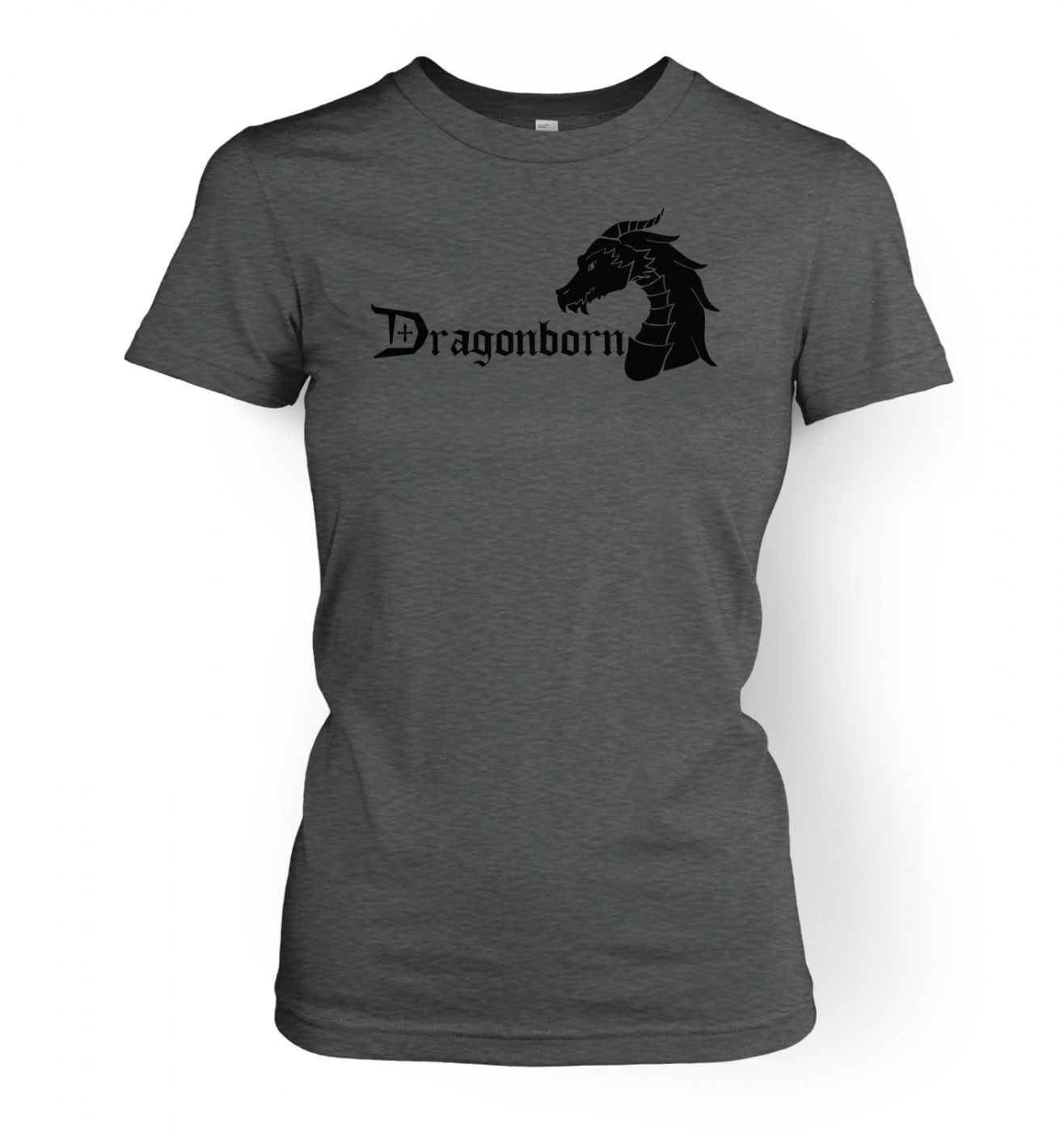 Dragonborn women's fitted t-shirt