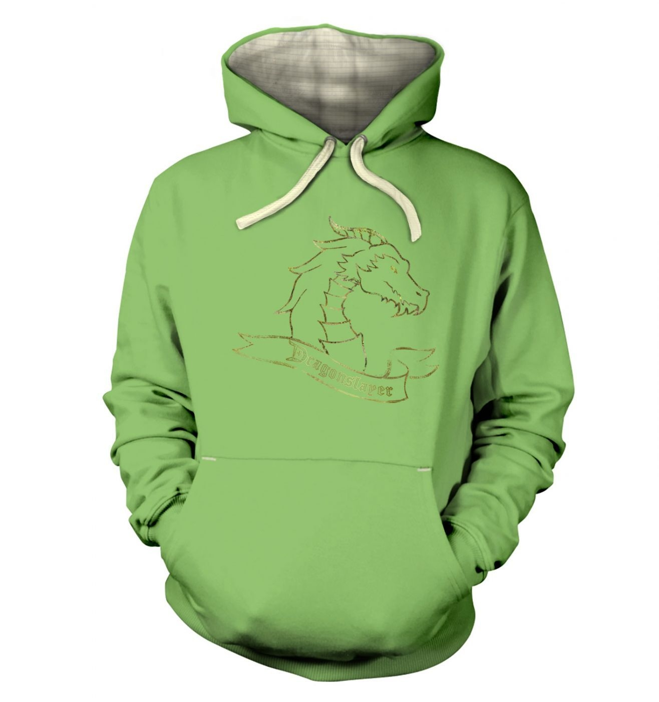 Gold Dragonslayer  hoodie (premium)