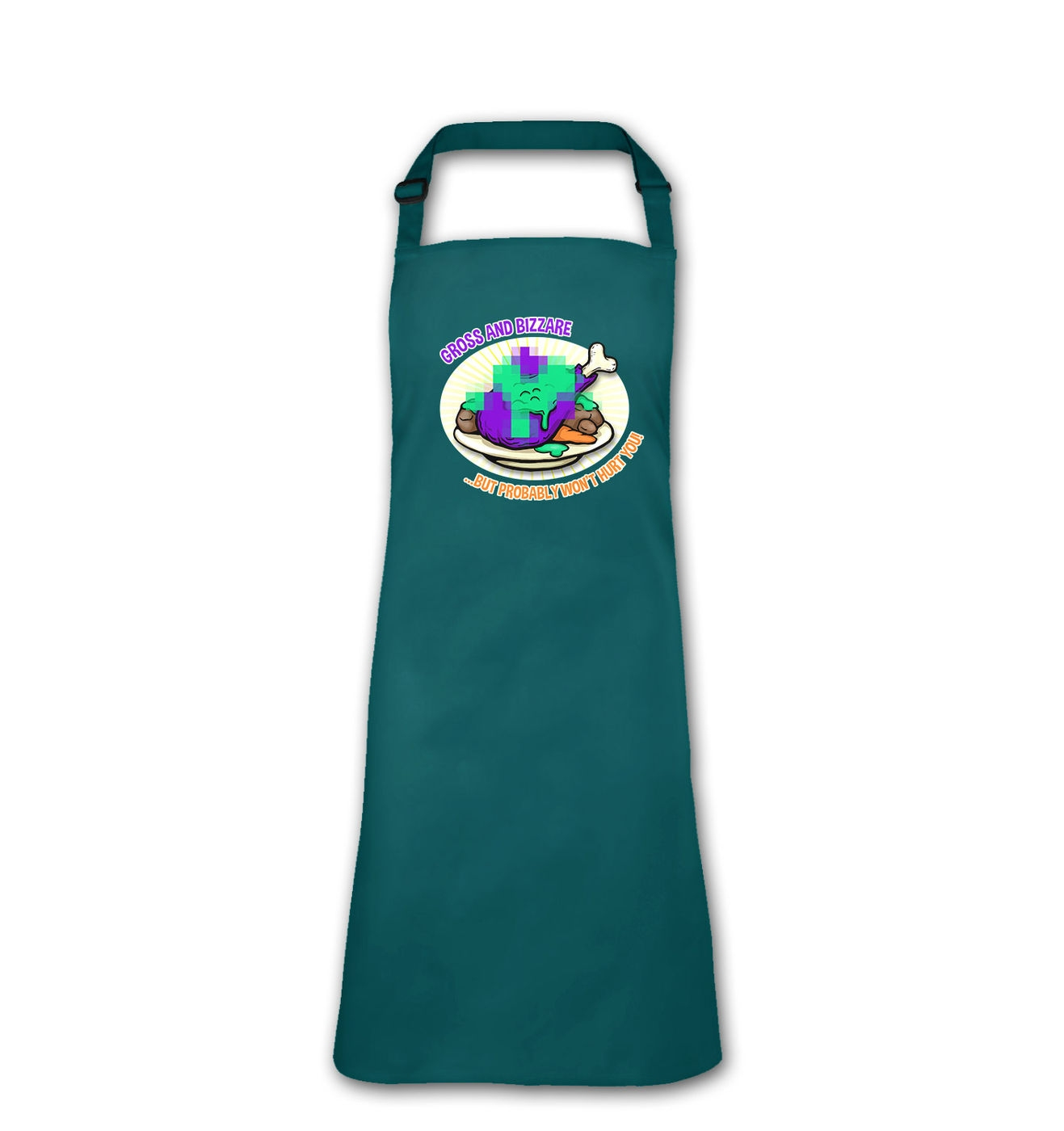 Dubious Food adult apron by Something Geeky