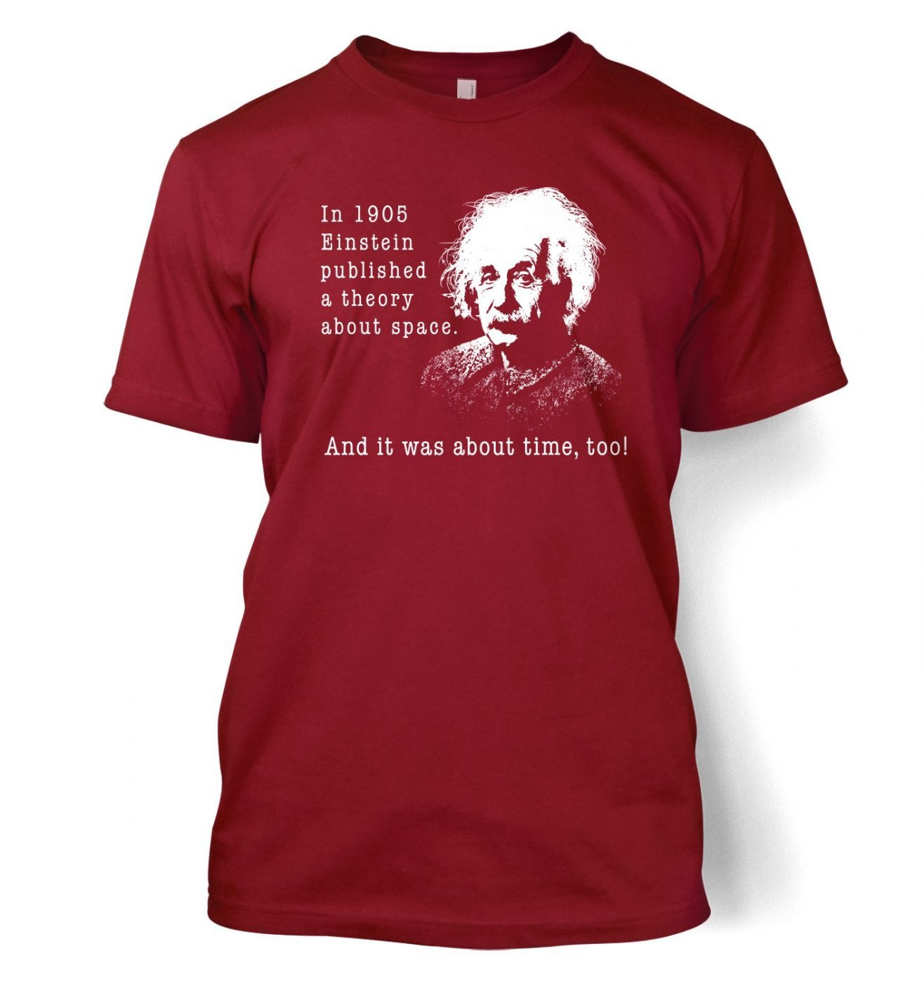 Einstein Had A Theory t-shirt