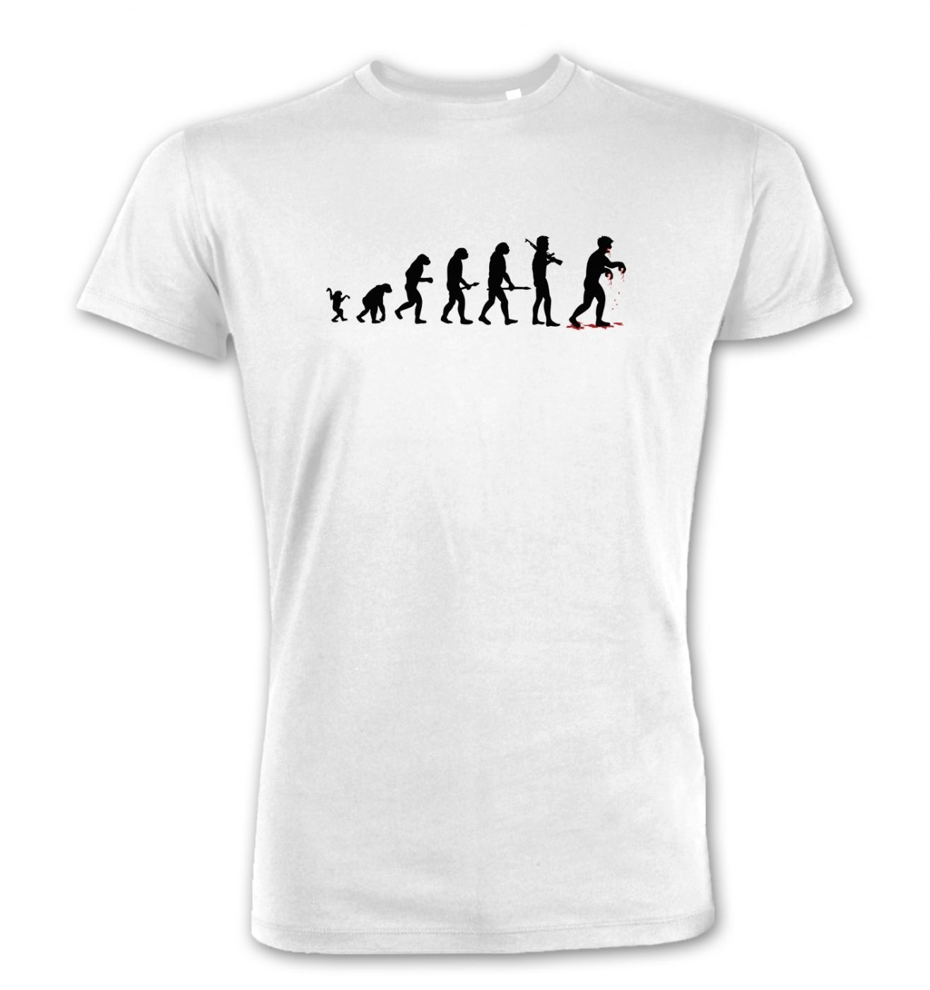 Evolution Of Zombies men's Premium t-shirt