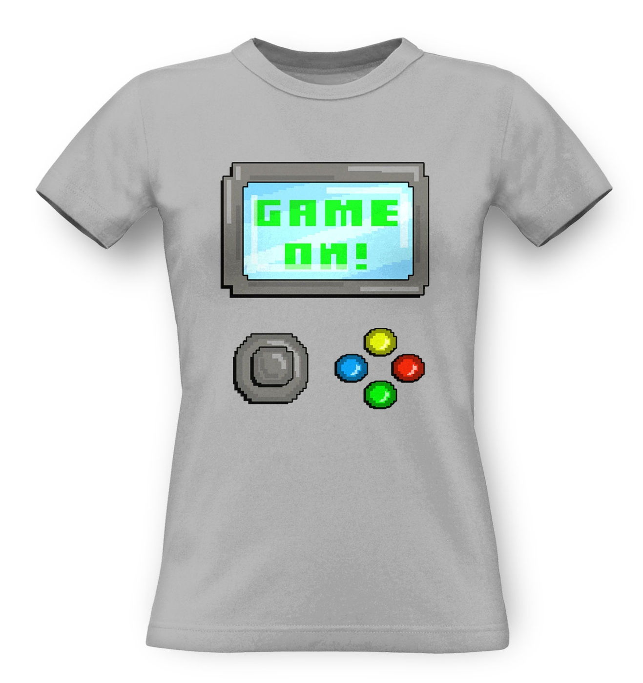 Game On classic women's t-shirt by Something Geeky