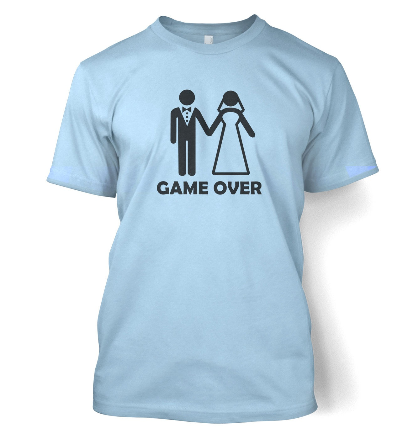Game Over men's t-shirt by Something Geeky