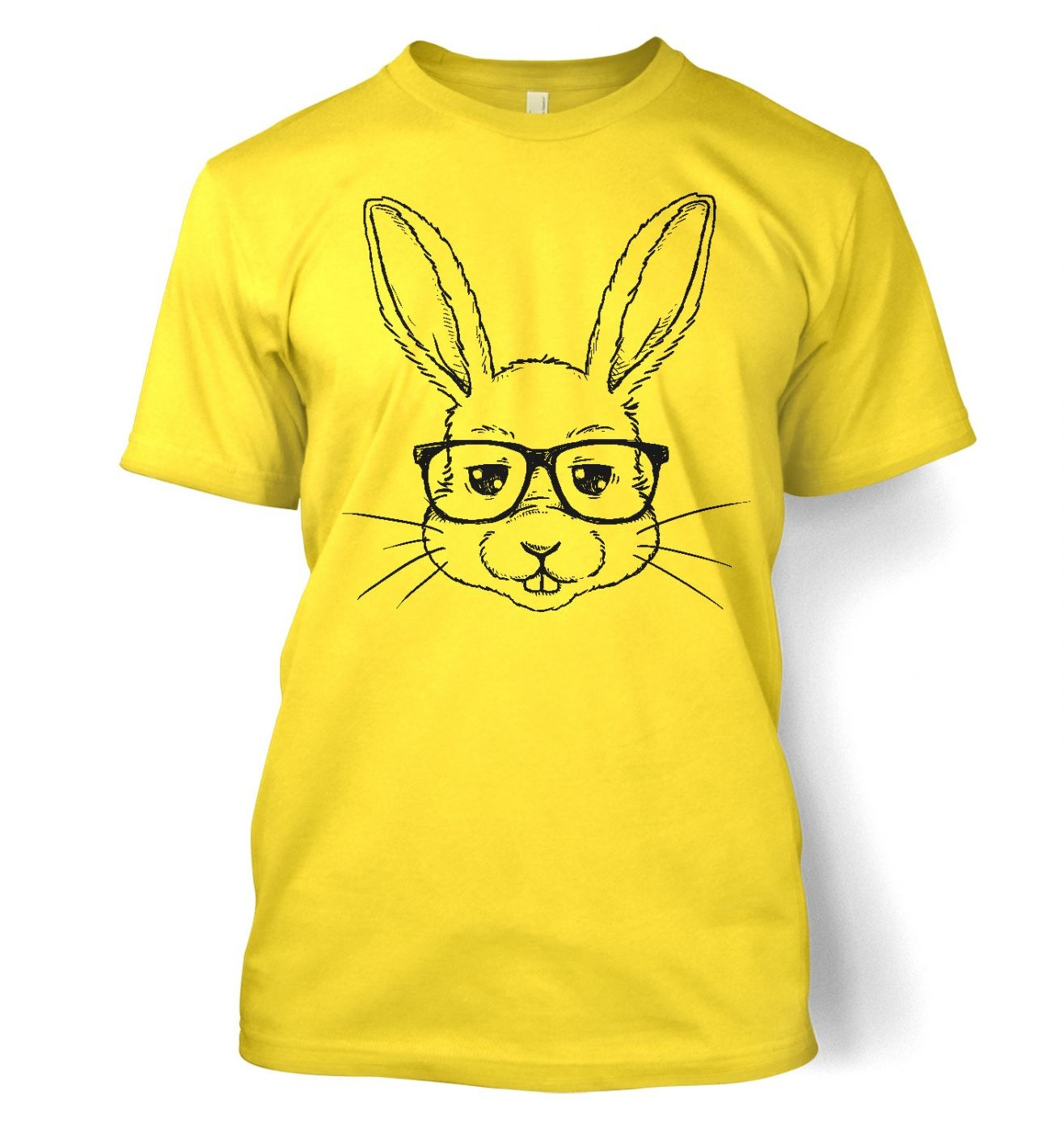 geek bunny t shirt somethinggeeky. Black Bedroom Furniture Sets. Home Design Ideas