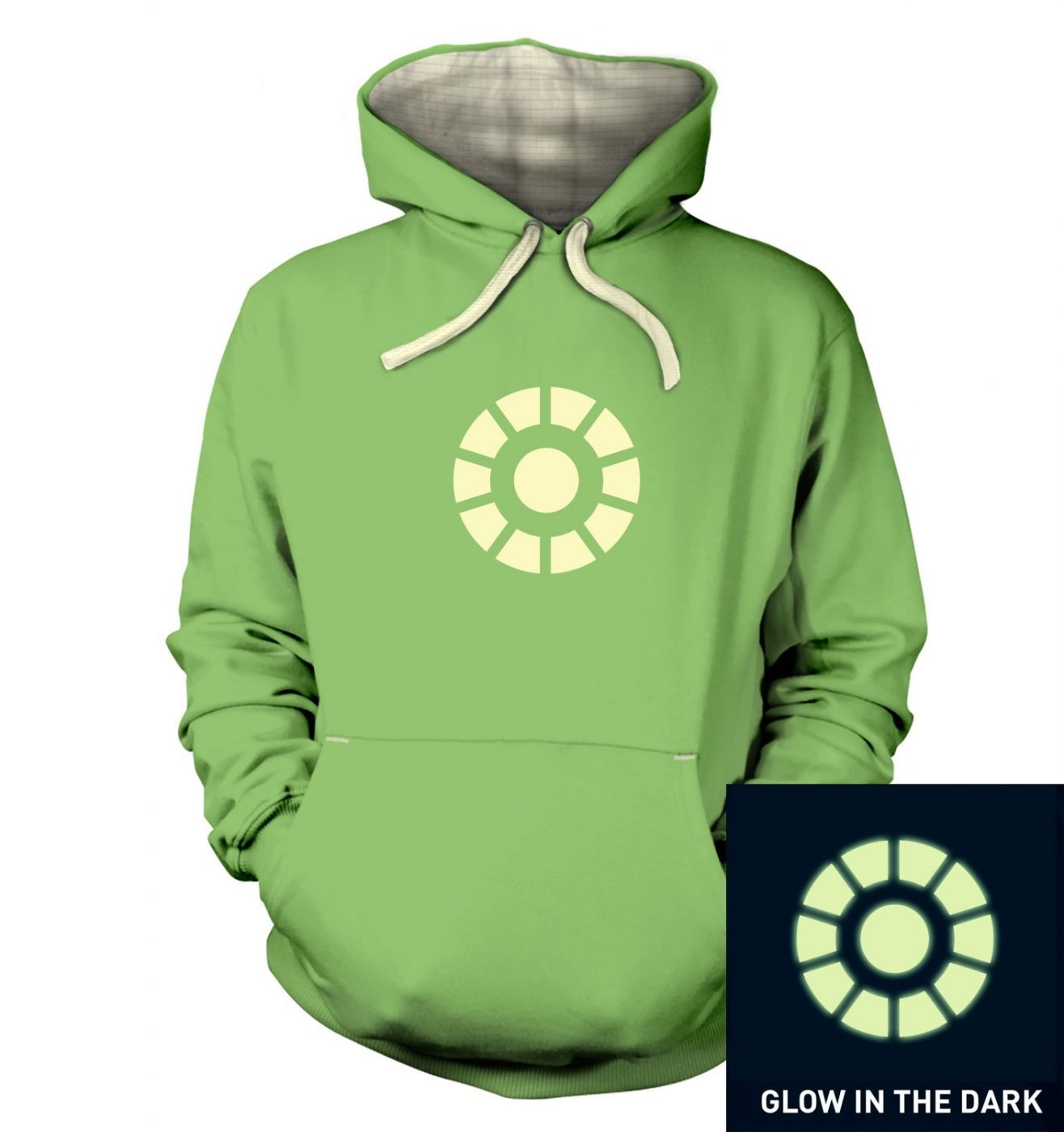 Arc Reactor (glow in the dark) hoodie (premium)