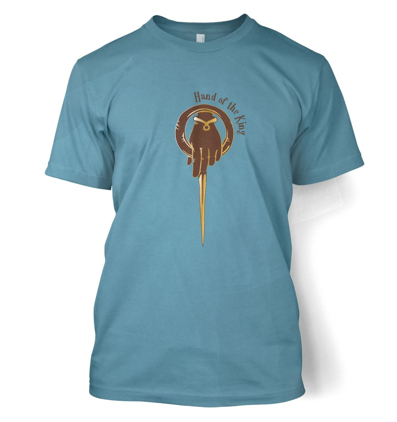 Gold Hand of the King  t-shirt - Inspired by Game of Thrones