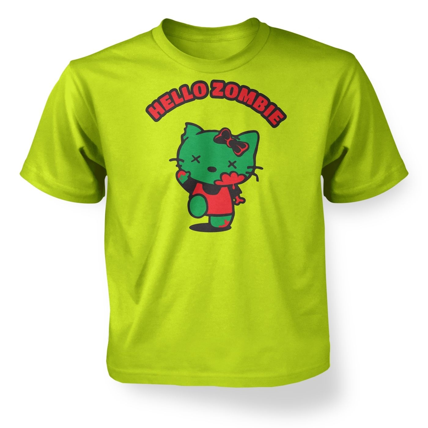 Hello Zombie kids t-shirt