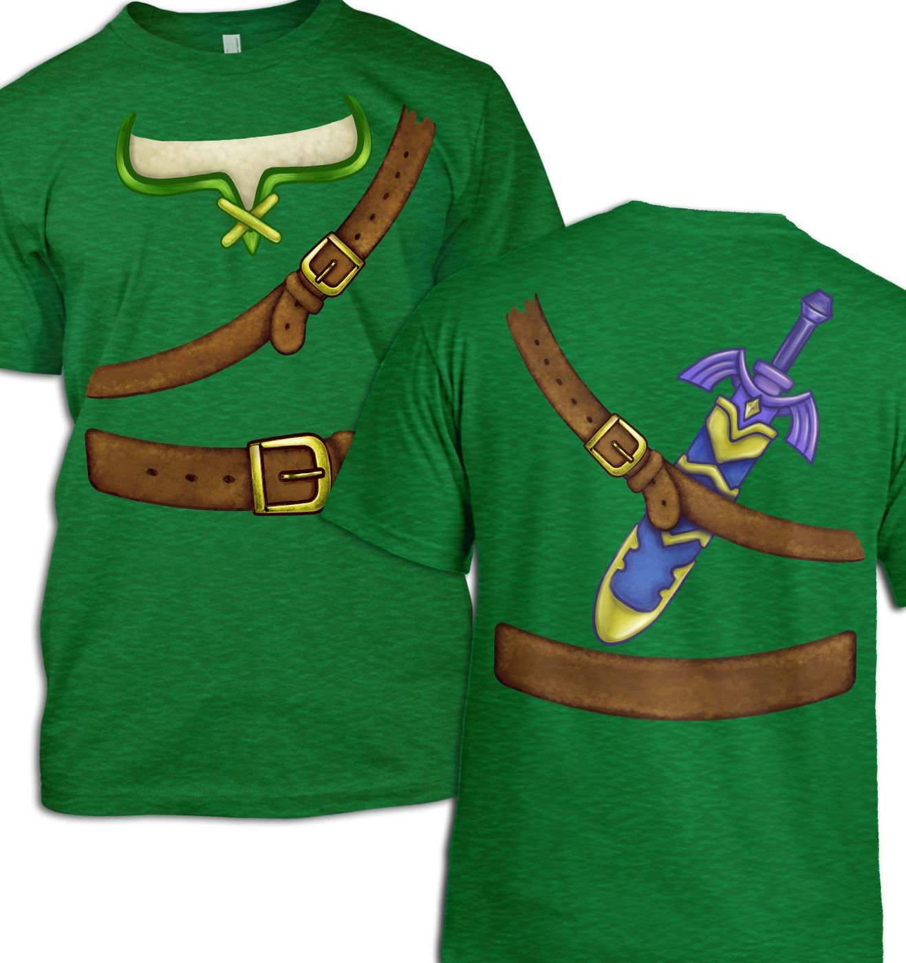 Hero Of Time Costume t-shirt by Something Geeky