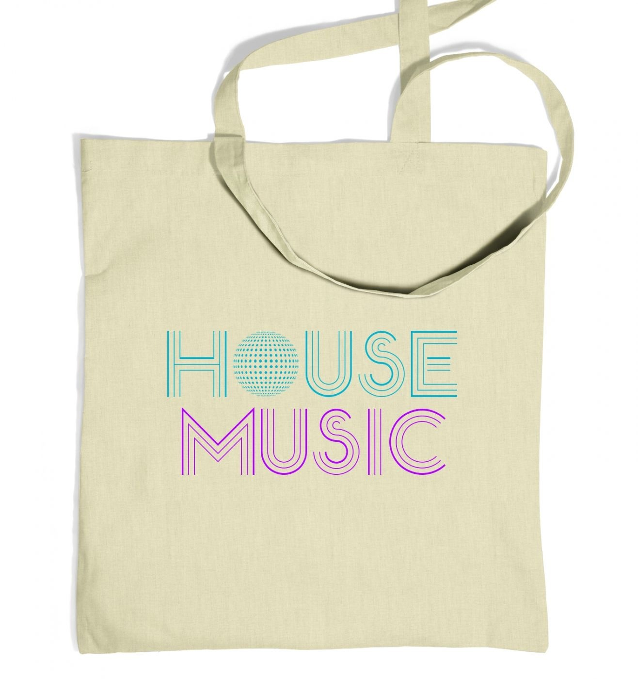 House Music Tote Bag