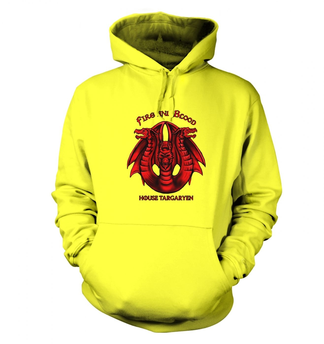 House Targaryen hoodie- Inspired by Game of Thrones