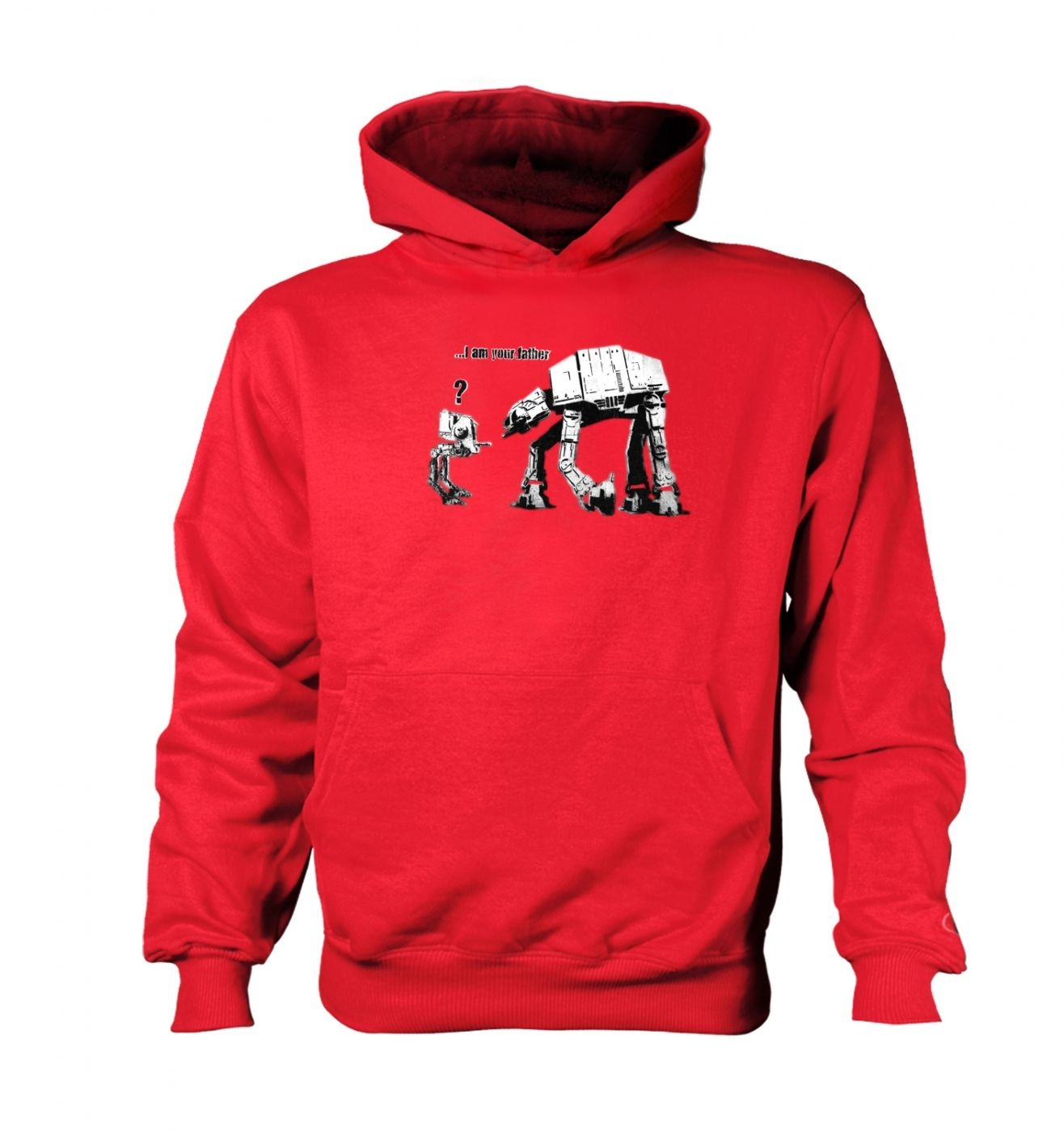 I Am Your Father kid's contrast hoodie