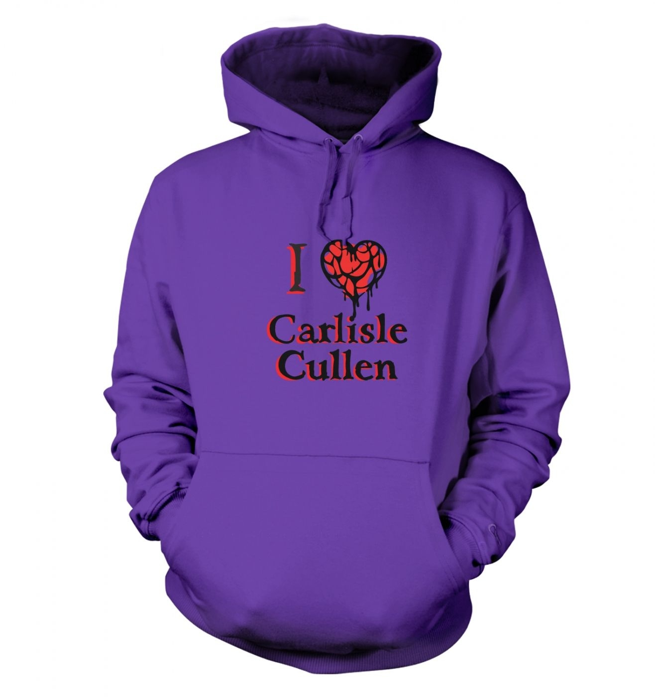 I heart Carlisle Cullen hoodie - Inspired by Twilight