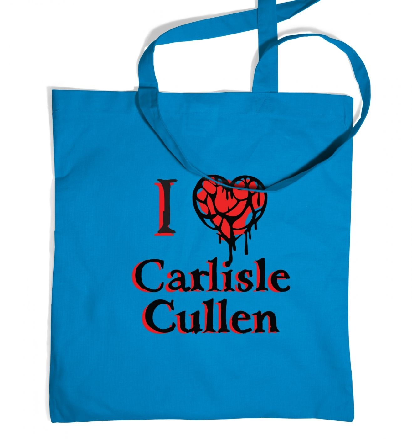 I heart Carlisle Cullen tote bag - Inspired by Twilight