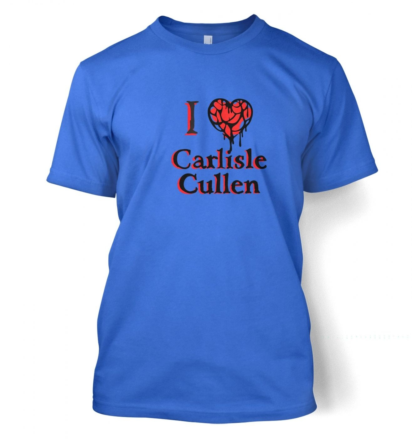 I Heart Carlisle Cullen men's t-shirt