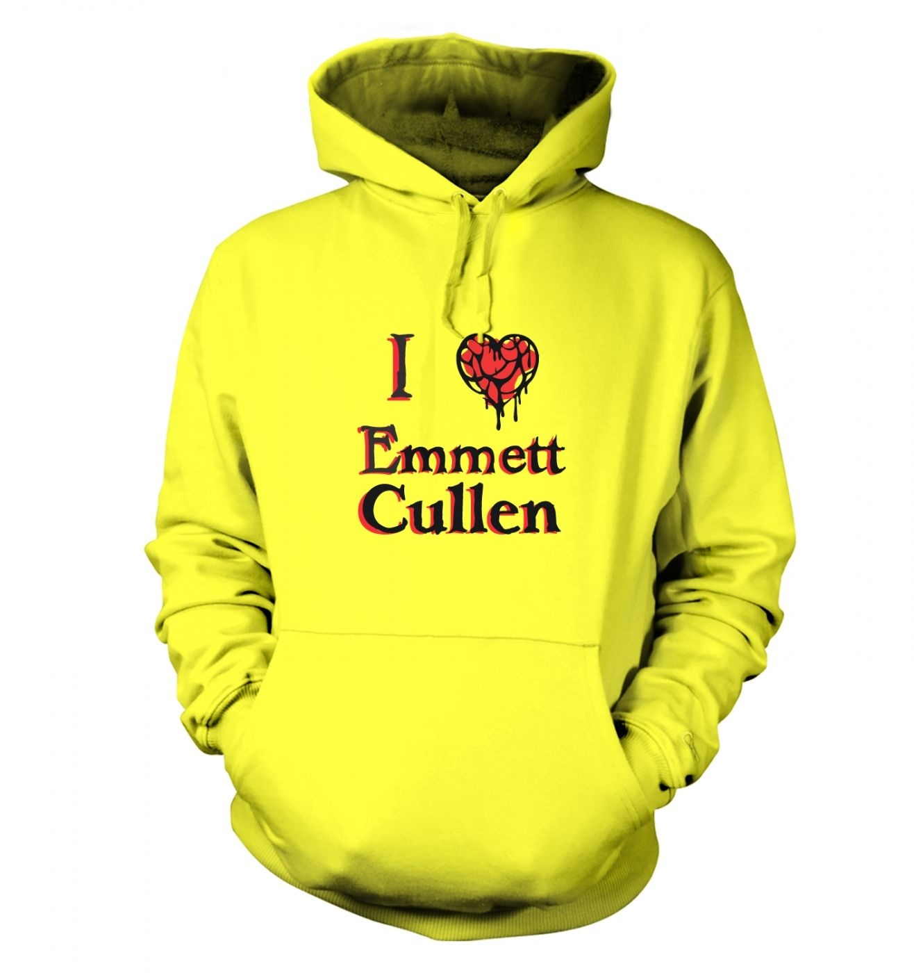 I heart Emmett Cullen hoodie - Inspired by Twilight