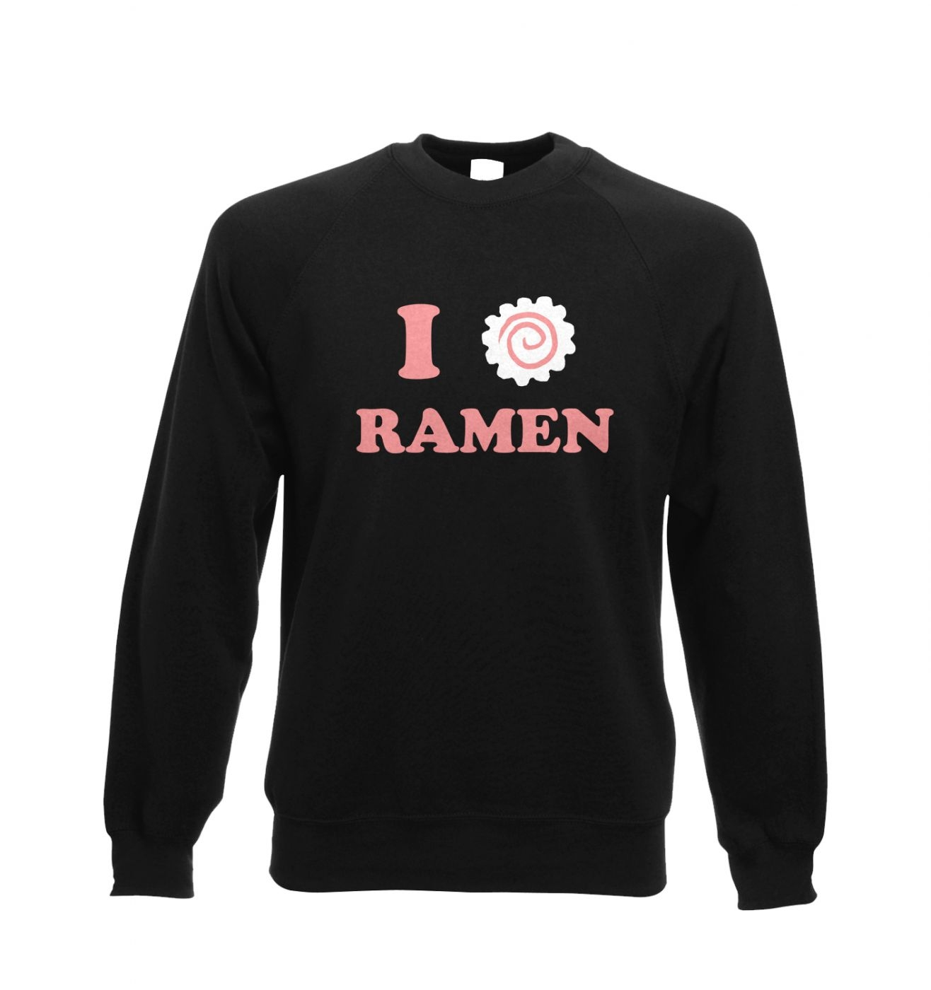 I Heart Ramen Adult Crewneck Sweatshirt