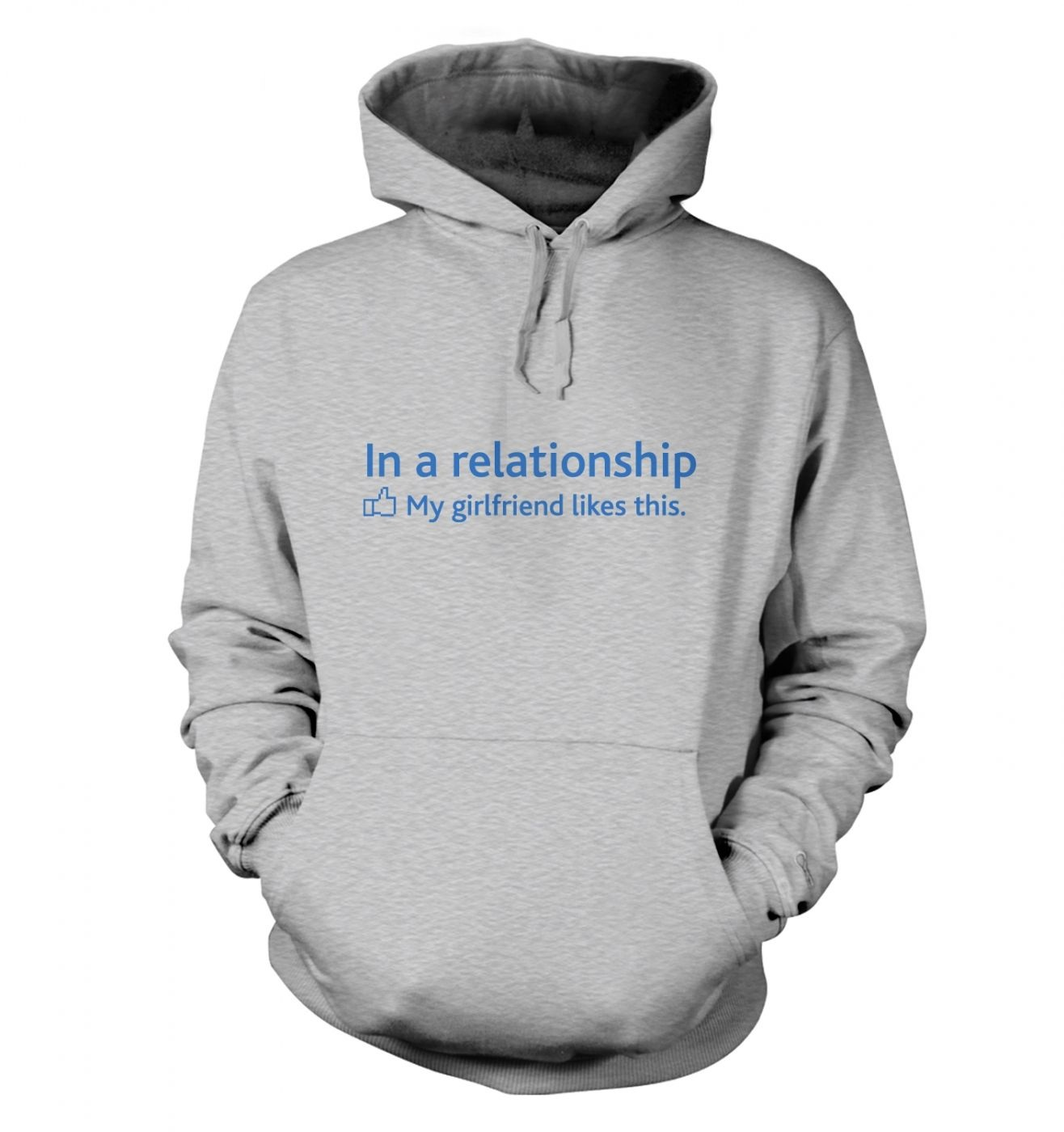 In a Relationship 'GF Likes' Social Status Hoody