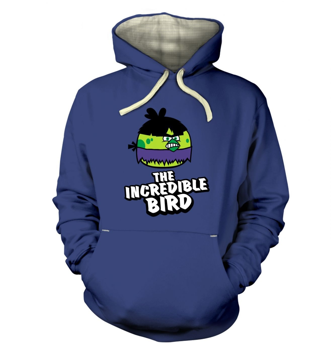 Incredible Bird Premium Hoodie Inspired By Avengers, Angy Birds And The Hulk