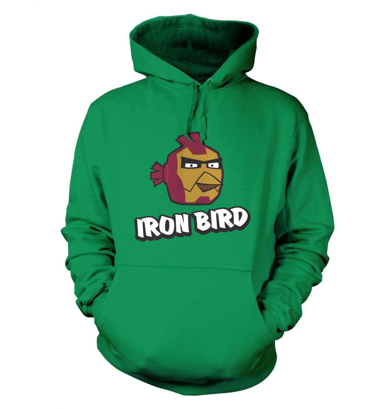Iron Bird Adult Hoodie Inspired By Avengers, Angry Birds And Iron Man