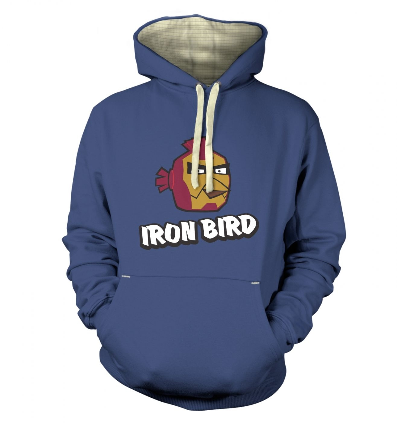 Iron Bird Premium Hoodie Inspired By Avengers, Angry Birds And Iron Man