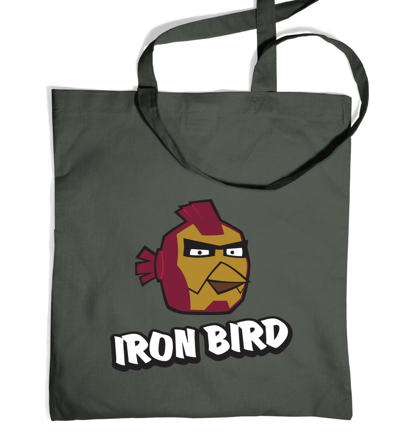 Iron Bird Tote Bag Inspired By Avengers, Angry Birds And Iron Man