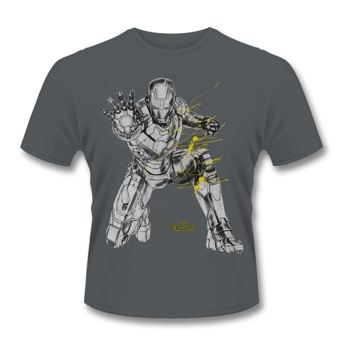 Iron Man t-shirt - Official Marvel Avengers:Age Of Ultron Iron Man tee