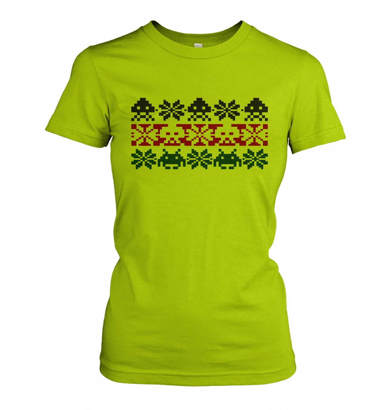 Isle Invaders women's fitted t-shirt