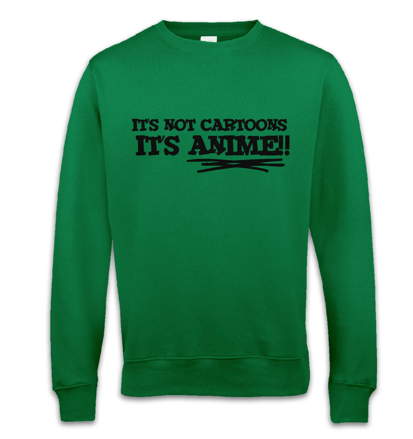 It's Not Cartoons! adult' crewneck sweatshirt