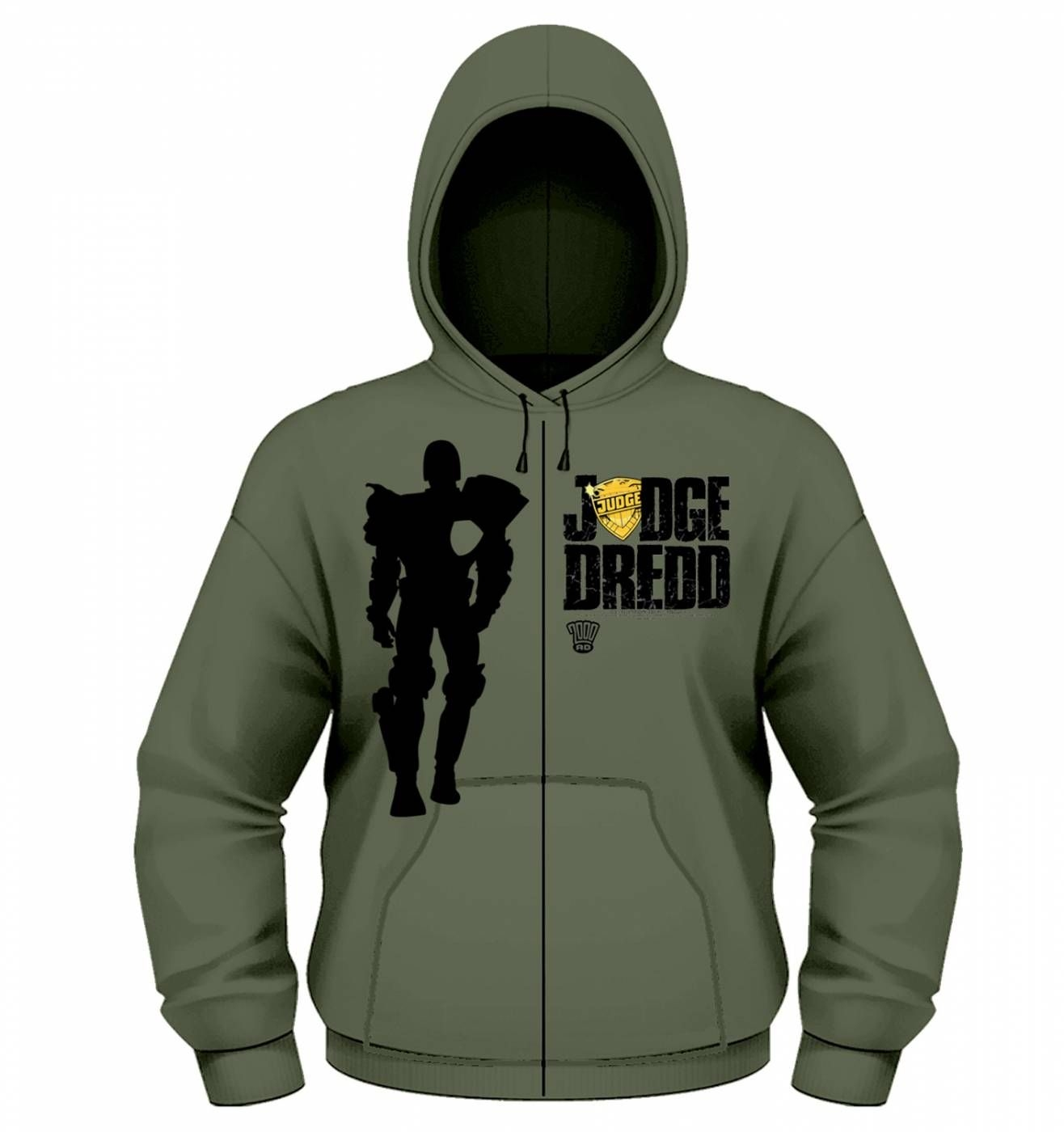 OFFICIAL Judge Dredd Silhouette zoodie