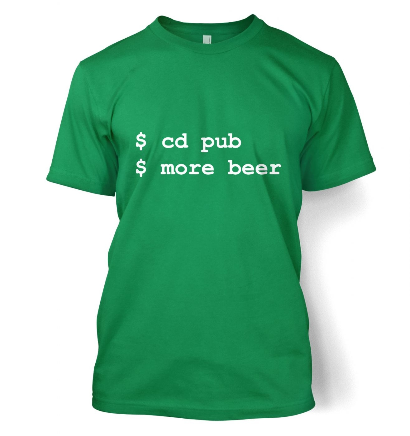 More Beer Linux t-shirt