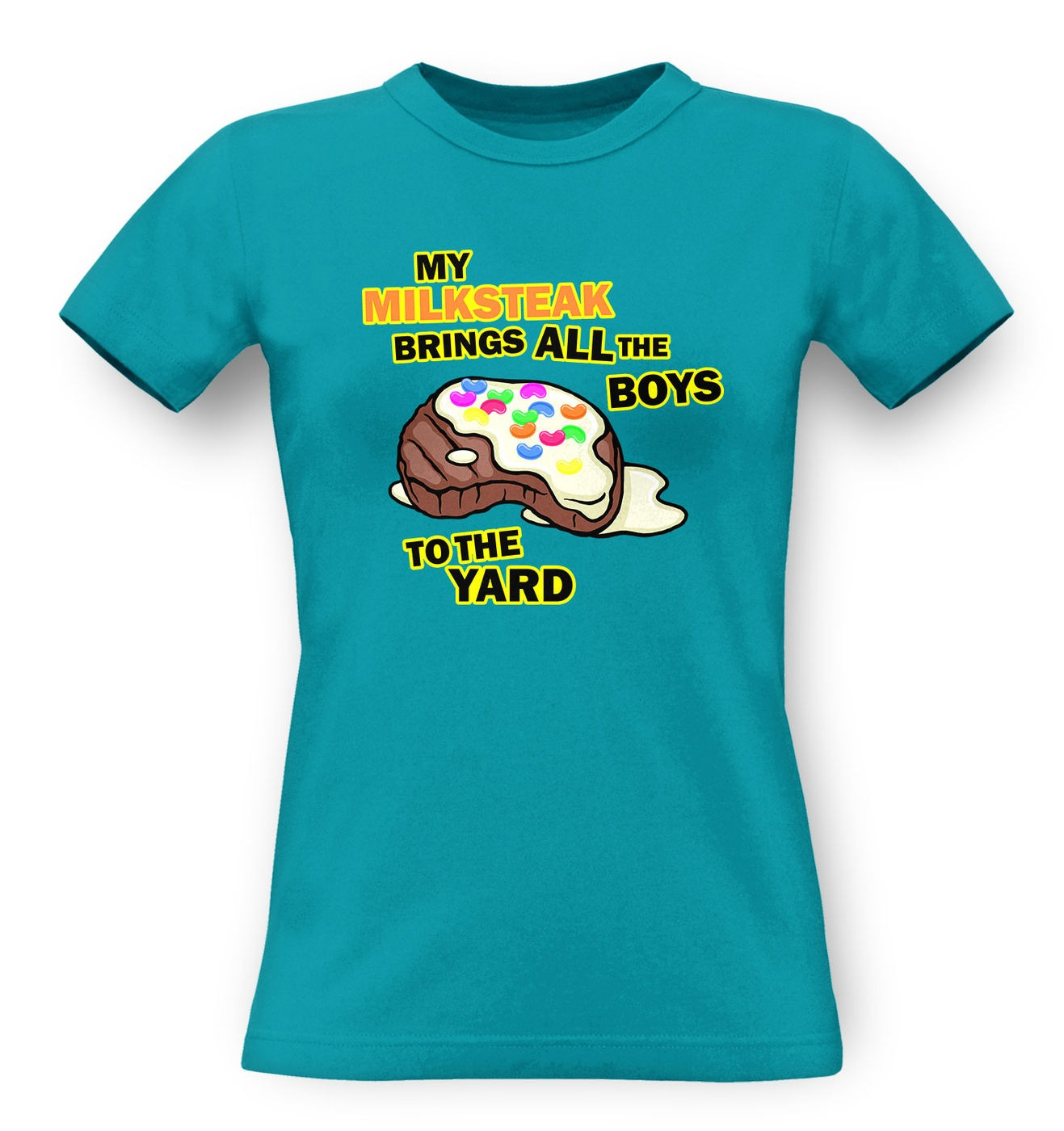 My Milksteak (Boys) classic women's t-shirt by Something Geeky