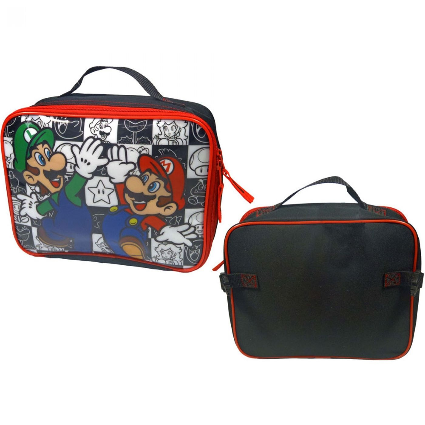 Nintendo Super Mario Bros lunch bag - Mario/Luigi bag