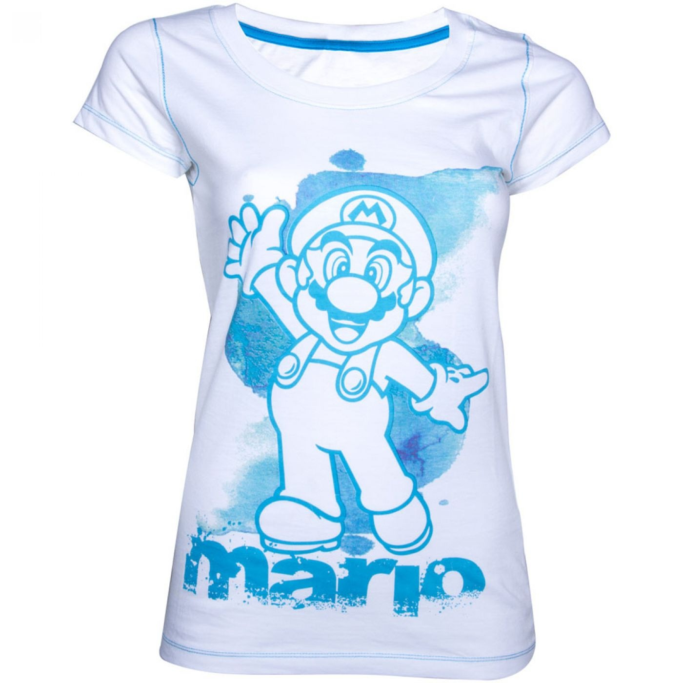 Nintendo Super Mario Bros women's t-shirt - Mario ladies tshirt