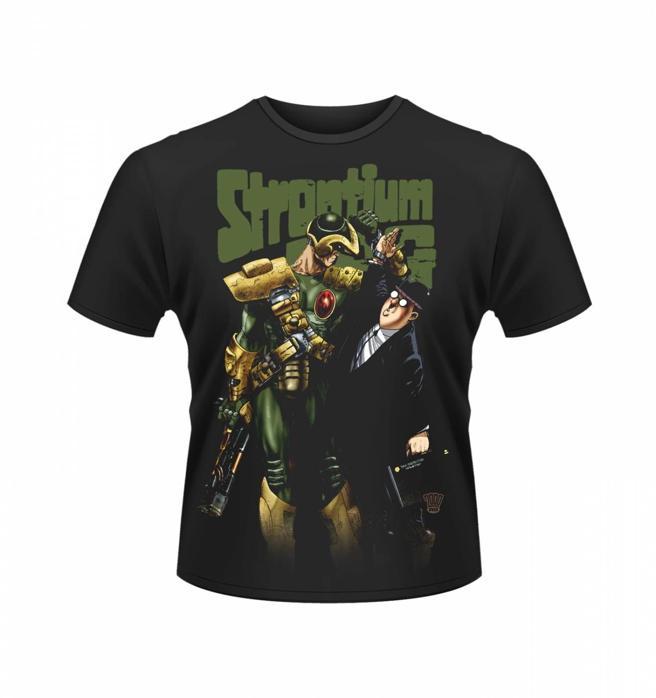OFFICIAL 2000AD Strontium Dog Banker t-shirt