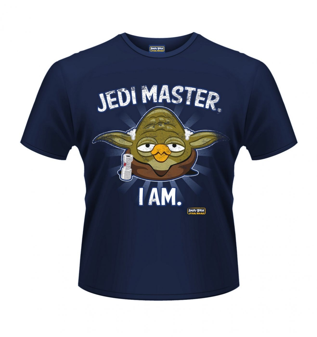 OFFICIAL Angry Birds Star Wars Jedi Master men's t-shirt