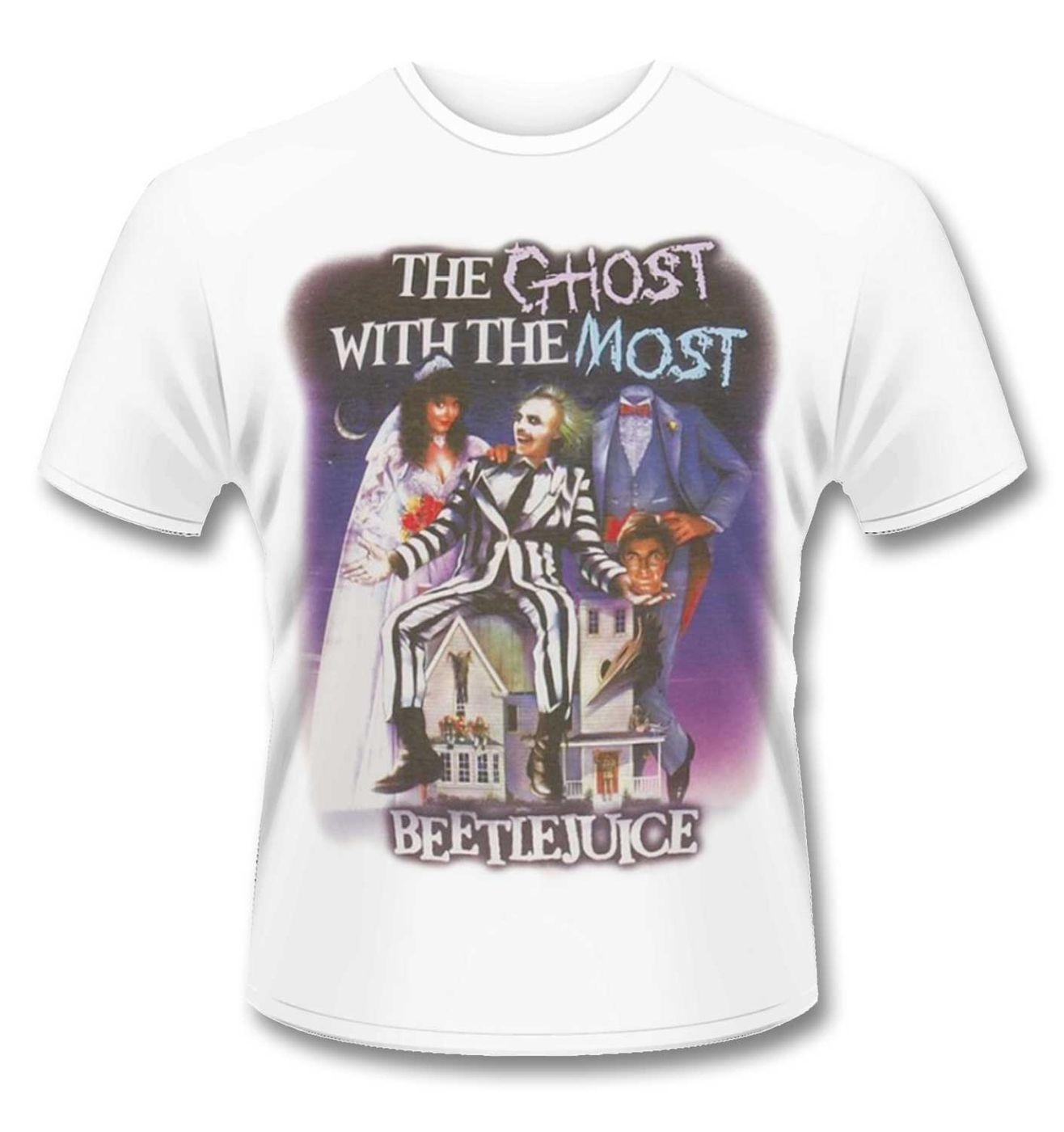 Official Beetlejuice Ghost With The Most t-shirt
