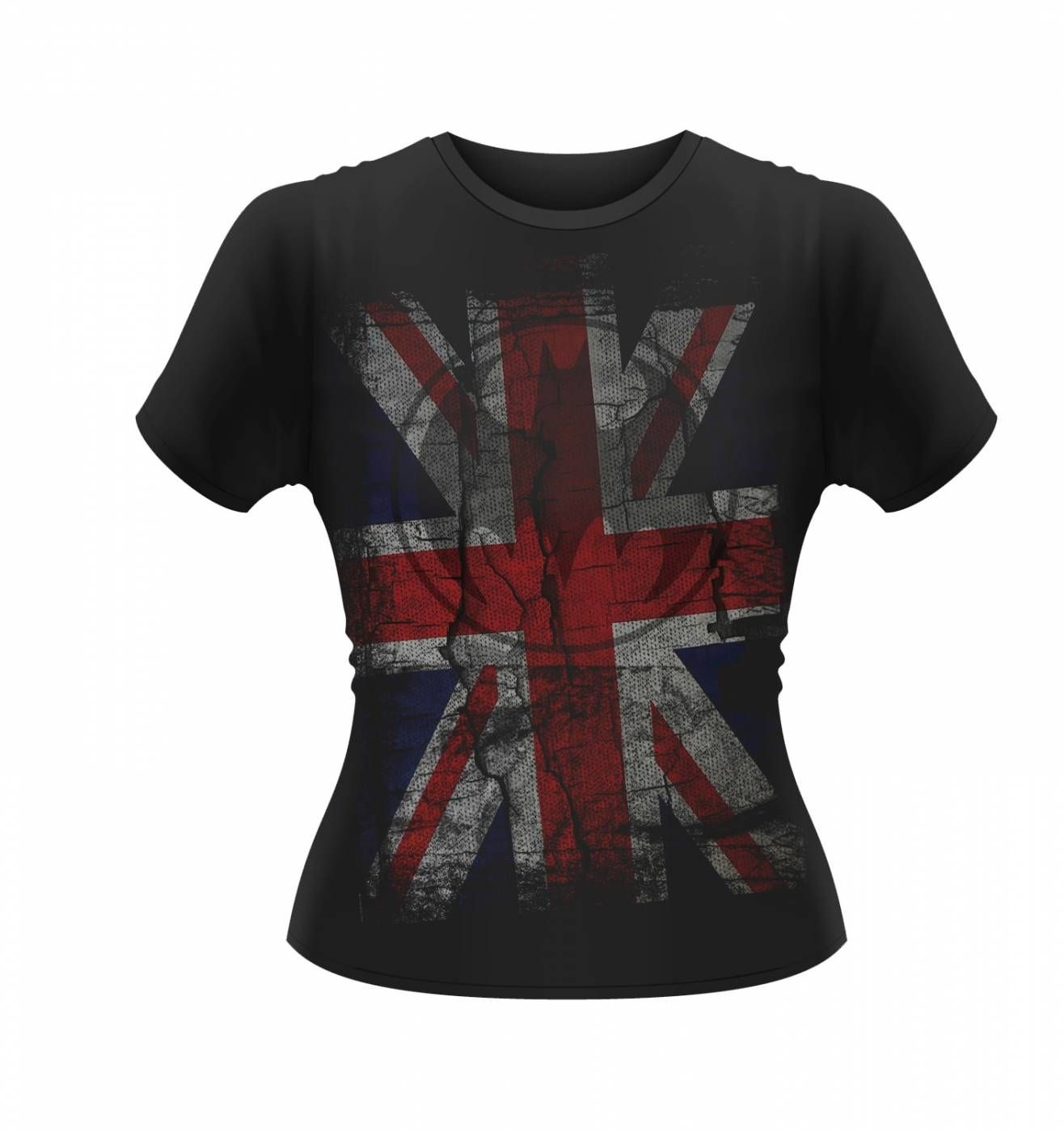 OFFICIAL DC Originals Retro Union Jack Batman t-shirt women's t-shirt