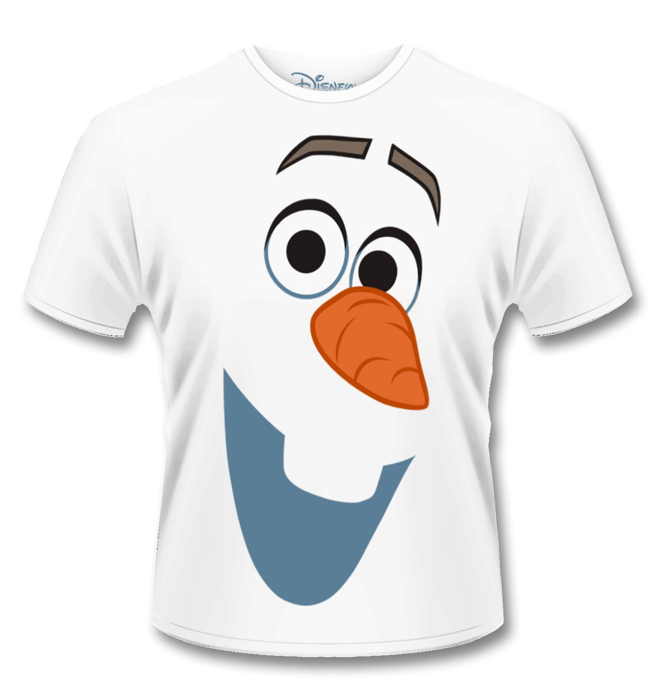 Official Disney Frozen Olaf Face T Shirt Somethinggeeky