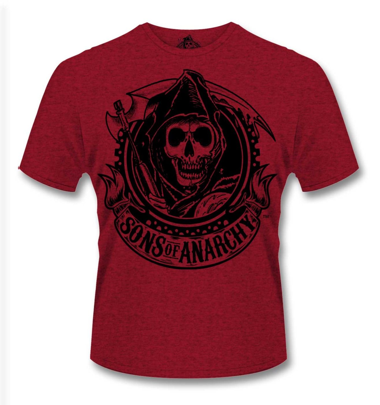 Official Sons Of Anarchy Reaper Banner t-shirt
