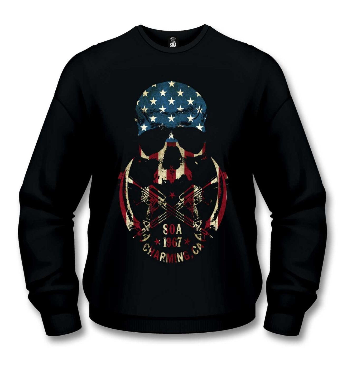 Official Sons Of Anarchy Skull sweatshirt