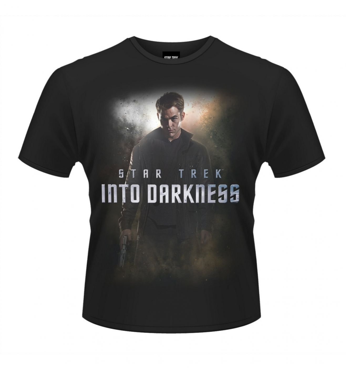 OFFICIAL Star Trek Into Darkness Kirk men's t-shirt