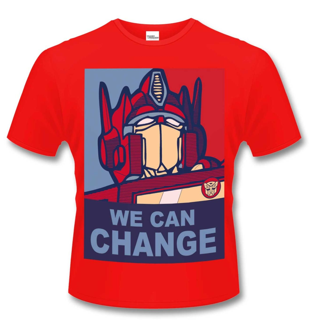 Official Transformers We Can Change t-shirt