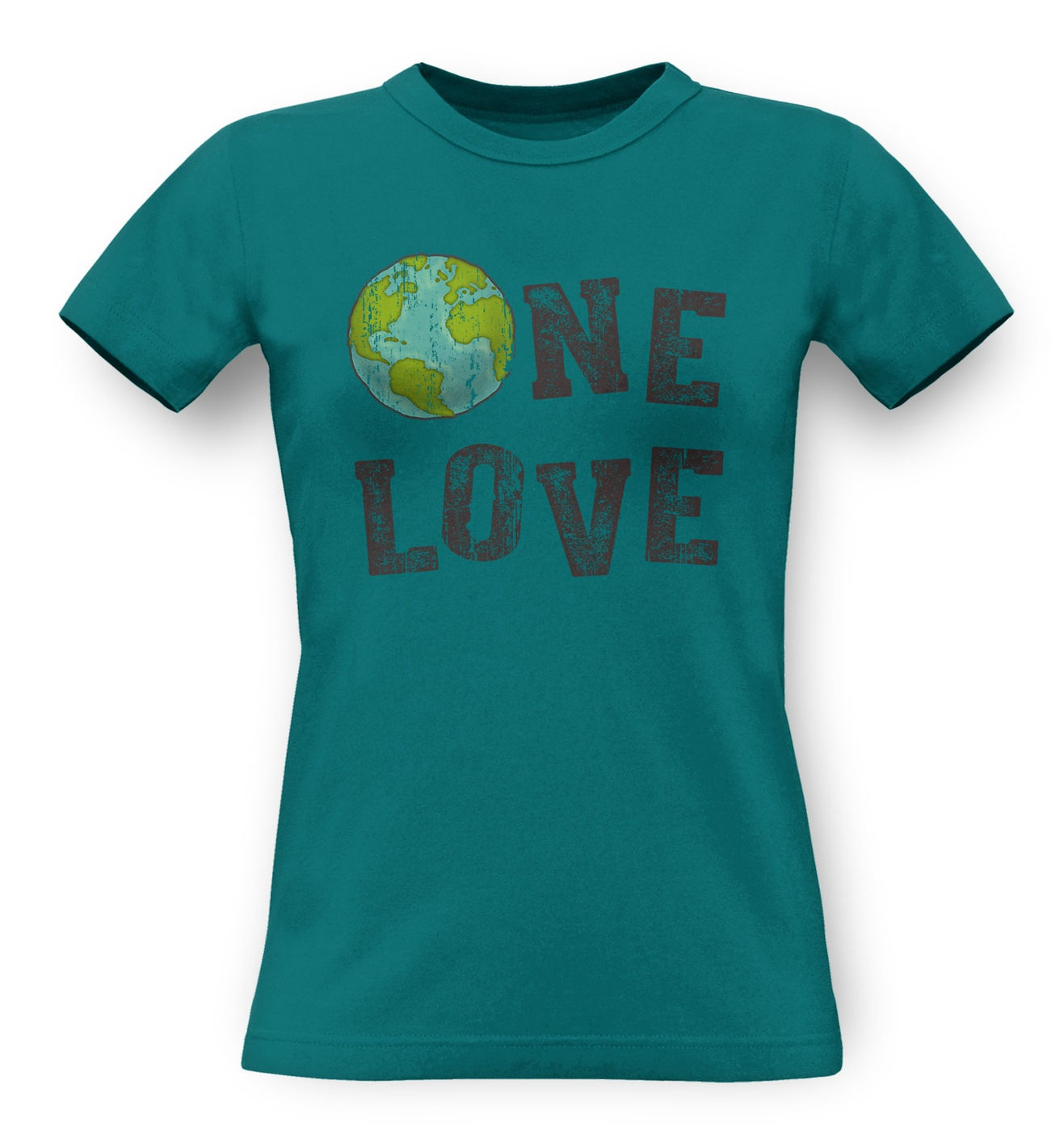 One Love (Earth) classic women's t-shirt by Something Geeky