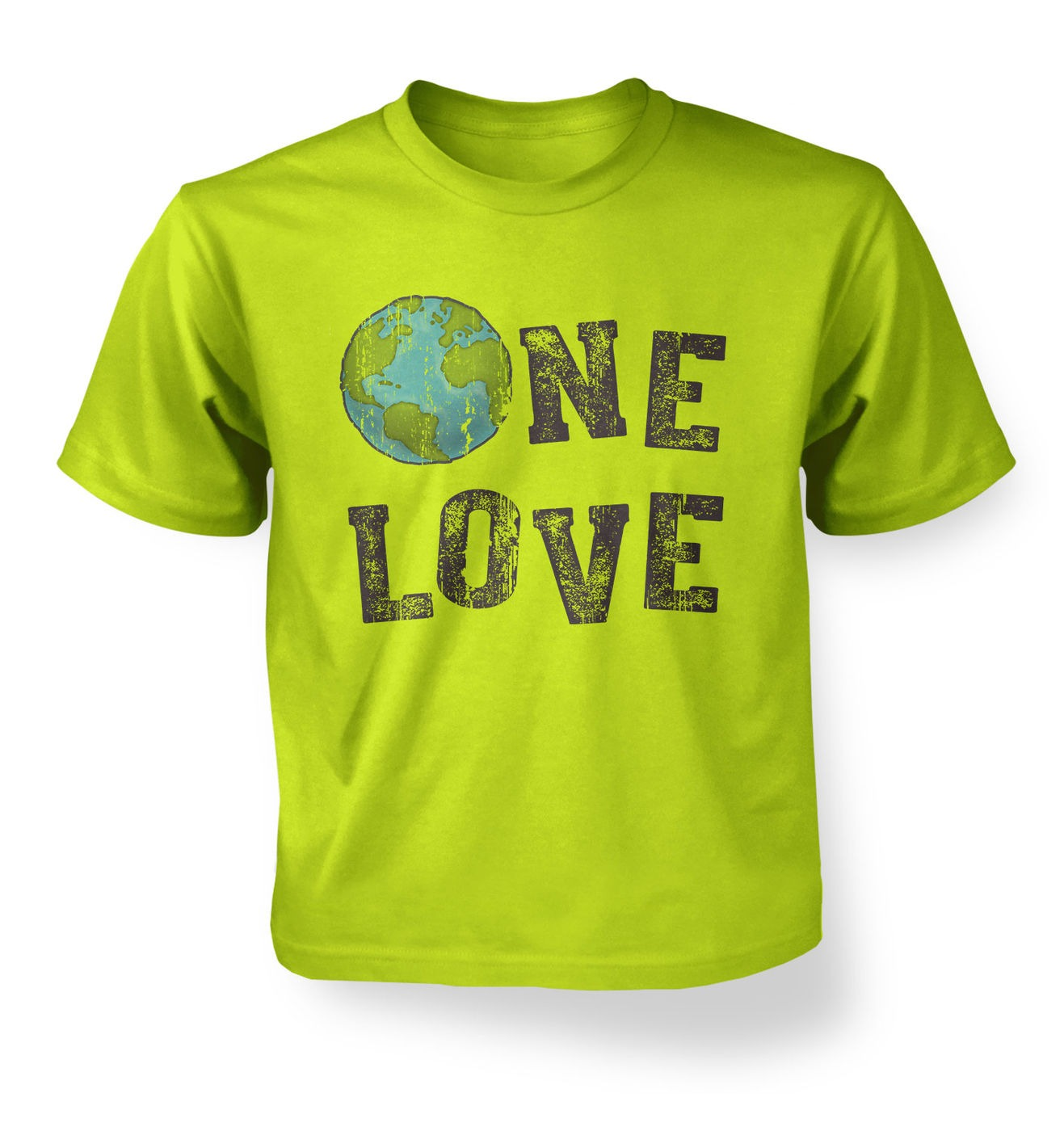 One Love (Earth) kids t-shirt by Something Geeky