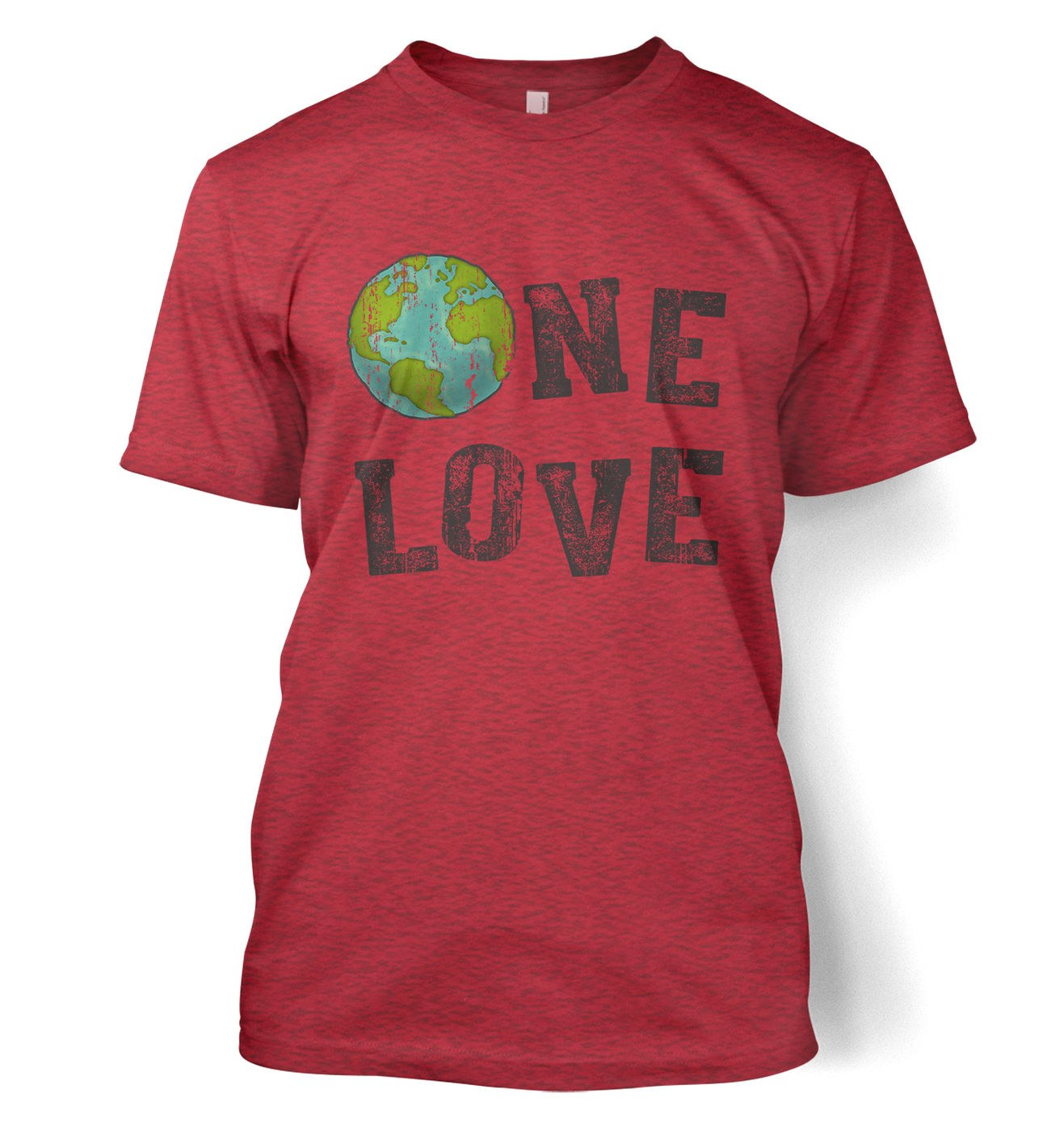 One Love (Earth) t-shirt by Something Geeky