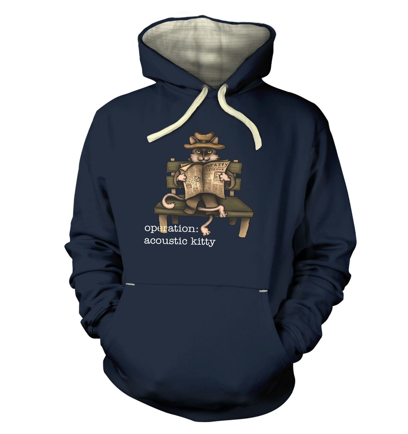 Operation Acoustic Kitty premium hoodie - cosy soft funny hoody